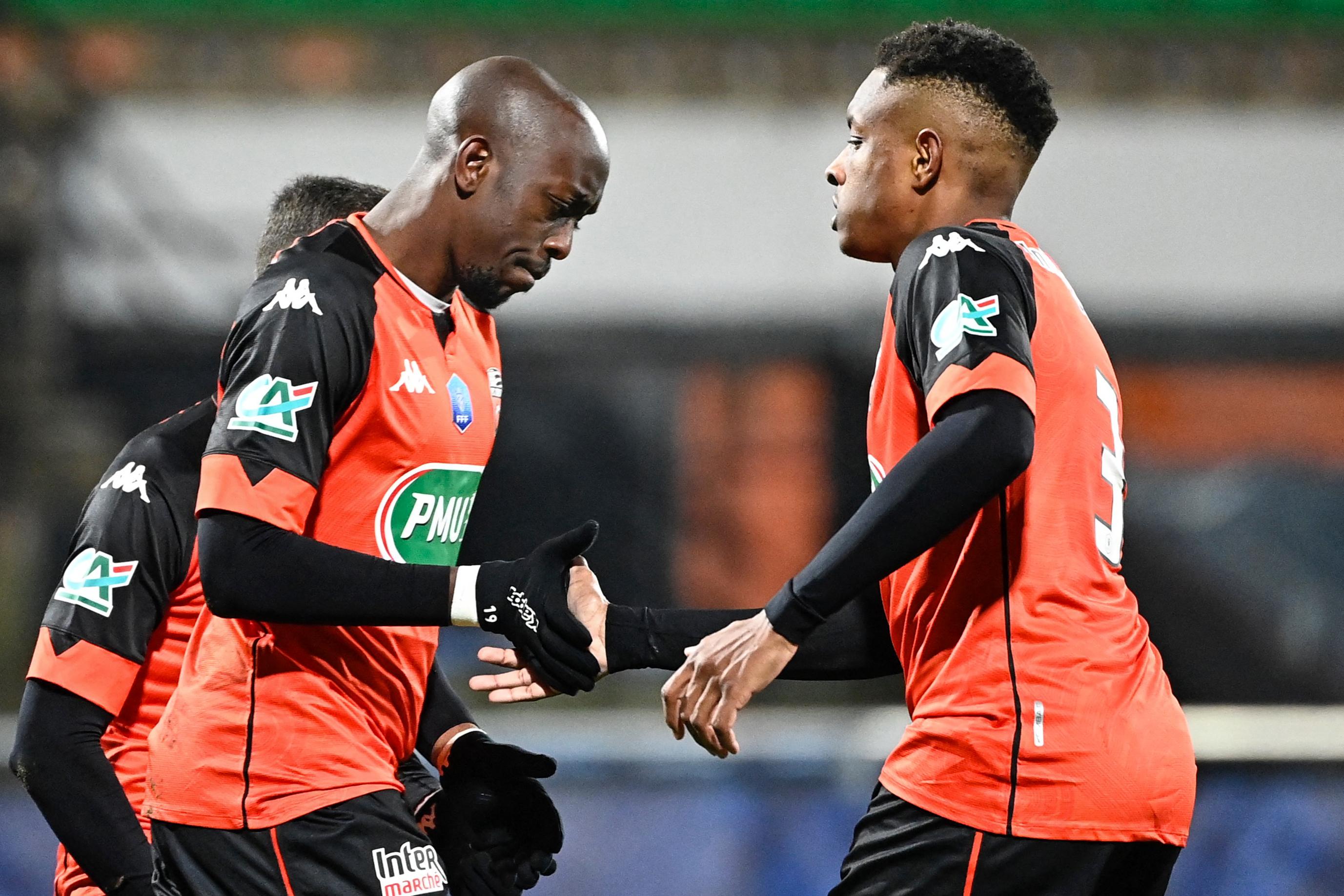 Lorient Paris FC (2-1), 32es de finale de la Coupe de France